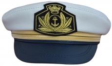 Капитанка Cap2 КБС цвет:белый,синий фото