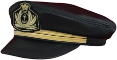 Капитанка Арт. Cap2 КЧ цвет: чёрная фото