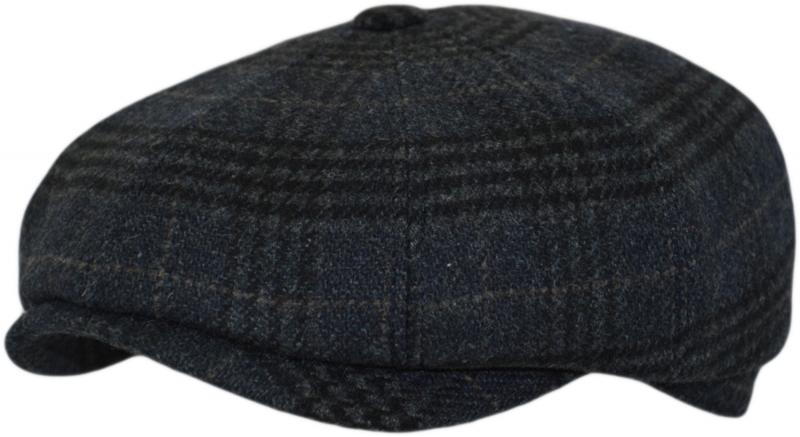 Восьмиклинка Арт. 803 А4s(клетка) цвет: тёмно-синий фото
