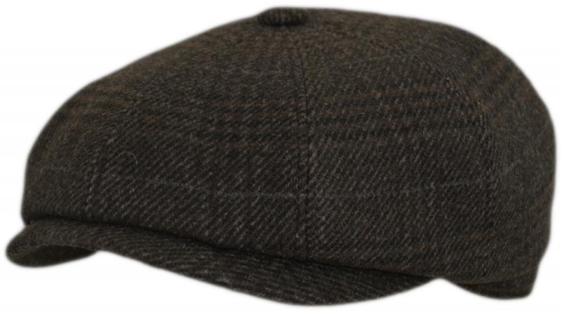 Bocьмиклинка Арт. 803 А4k(клетка)  цвет: тёмно-коричневый фото