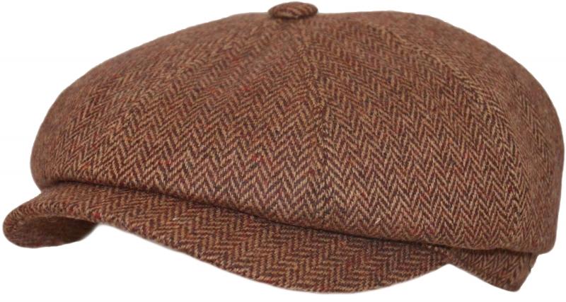 Восьмиклинки unisex Арт. 801 N1r(ёлка) цвет: бордово-коричневый фото