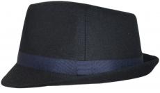 Шляпа (Классическая) Арт. ШЛ Dnavi цвет:тёмно-синий фото
