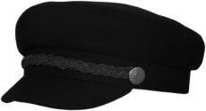 Картуз Картуз Black(KЧ) цвет: чёрный,лента цвет:чёрный фото