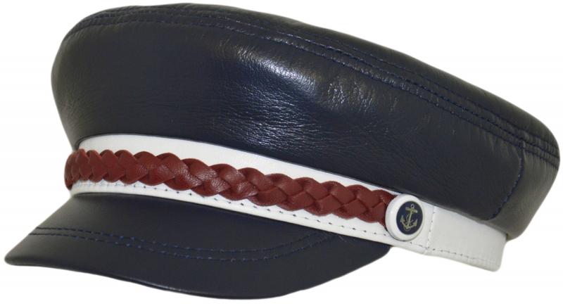 Капитанка Арт. Cap2 Mare цвет: тёмно-синий, белый, бордовый фото