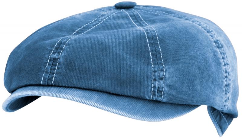 Восьмиклинка Арт. 802 ВТГ(вельвет) цвет: синий фото