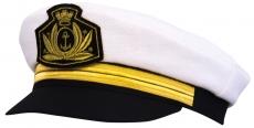 Капитанка Cap2 ЧБ цвет: чёрный, белый фото