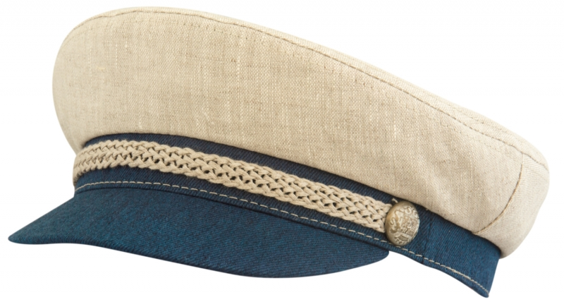 Капитанка Арт. Cap2 ЛСБ цвет: бежевый, синий фото