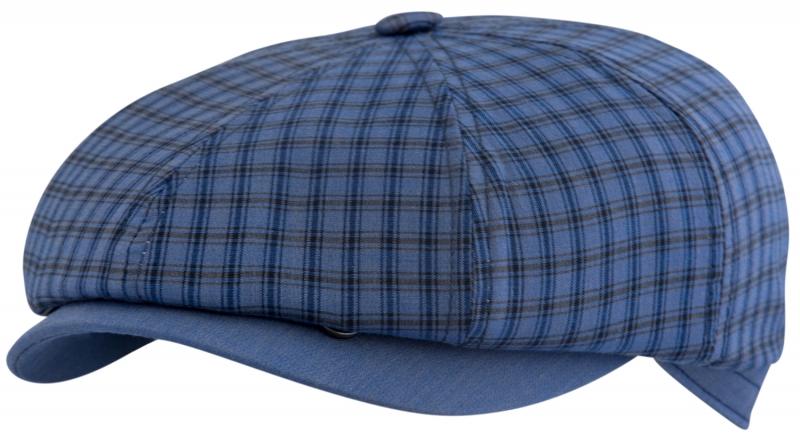 Восьмиклинка Арт. 802 КЛ3-К(клетка) цвет: синий фото