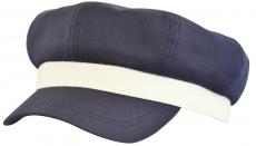 Капитанка Cap Тсин-К цвет: тёмно-синий , белый фото