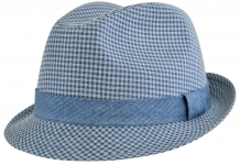 Шляпа (Трилби) Шл4 Aversa цвет: синий фото