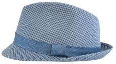 Шляпа (Трилби) Арт. Шл4 Aversa цвет: синий фото
