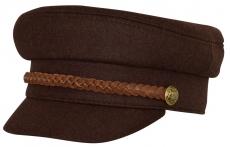 Картуз К Brown-K цвет: коричневый фото