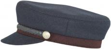 Капитанка Арт. Cap2 Arona цвет:тёмно-синий, винный фото