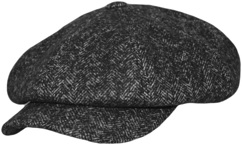 Кепка Amerikanca Арт. 809 Savona(ёлка) цвет: тёмно-серый фото