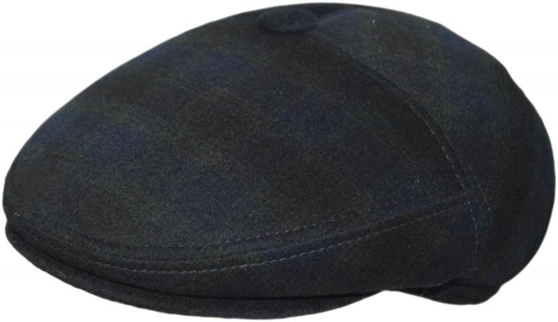 Трехклинки Арт. SC-8 (клетка) цвет:синий и тёмно-зелёный(клетка) фото