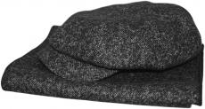 Наборы(Кепка+Шарф) Savona(ёлка) 809 цвет: тёмно-серый фото