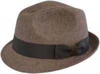 Шляпа (Трилби) Шл4 Latte цвет: Lette фото