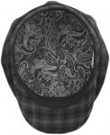 Восьмиклинка Арт. 801 Клсер(клетка) цвет: тёмно-серый фото