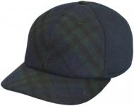 Бейсболка Б18 SC9-D цвет:синий и тёмно-зелёный(клетка) фото