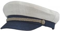 Капитанка Cap2 Лсбел цвет: белый , синий фото