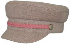 Картуз К Fendy Rose цвет: серо-розовый фото