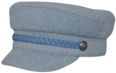 Картуз К Fendy Blu цвет: серо-голубой фото