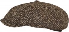 Кепи Venzano Арт. 806 Ferrara-2к-К (ёлка) цвет: коричневы фото