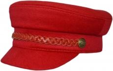 Картуз К Red-A цвет: красный фото