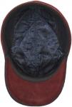 Бейсболка Арт. Б03 Vinci-К(клетка) цвет:тёмно-синий,бордовый фото