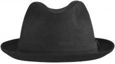 Шляпа (Хомбург) ШЛ2 Black цвет: чёрный фото