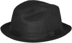 Шляпа (Хомбург) Арт. ШЛ2 Black цвет: чёрный фото